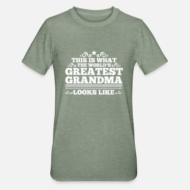 Greatest The World's Greatest Grandma - Unisex Polycotton T-Shirt