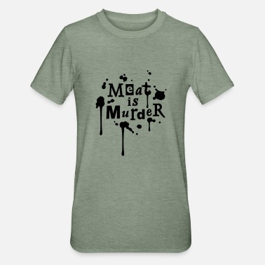 The Smiths meatismurder01_225x225 - Unisex Polycotton T-shirt