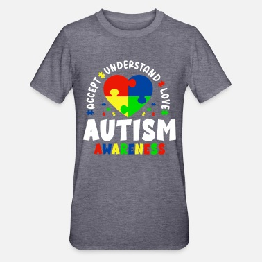 Beautiful Autism Awareness - Unisex Polycotton T-Shirt