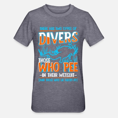 Diving Scuba diving diver sea ocean saying gift - Unisex Polycotton T-Shirt