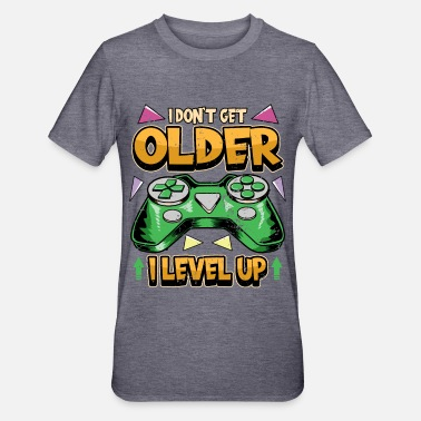 Birthday Gamer PC Videogames Controller Saying Gift - Unisex Polycotton T-Shirt