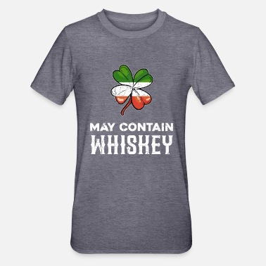 Cicchetto Stampa Irish Whiskey Lover - Maglietta da unisex, mix cotone e poliestere