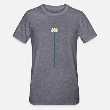 Marguerit big_flower - Unisex polycotton T-shirt