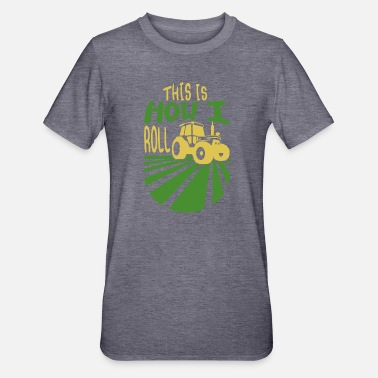 Tractor, This Is How I Roll, Bulldog - Unisex Polycotton T-Shirt