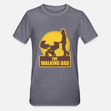 The Walking Dad Zwillinge THE WALKING DAD VATERTAG - Unisex Polycotton T-Shirt