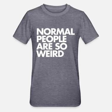 Cool Normal People - Polycotton-T-shirt unisex