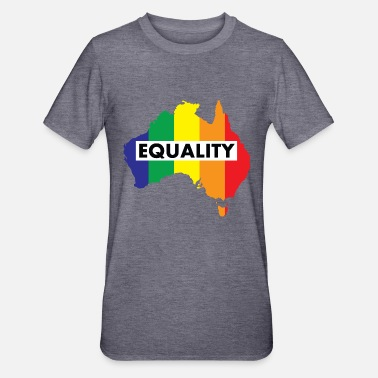 Marriage Equality Vote Yes-Australia Marriage Equality - Unisex Polycotton T-Shirt