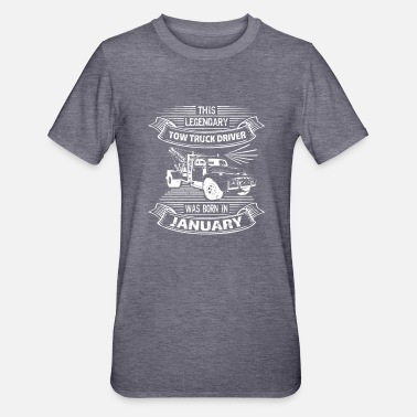 January birthday towing service - Unisex Polycotton T-Shirt
