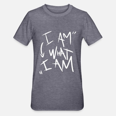 I Am i am what i am - Unisex Polycotton T-Shirt