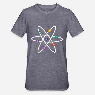Newton Atom Model - Unisex Polycotton T-shirt