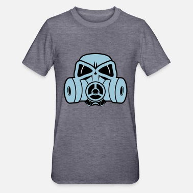 Gas Mask gas mask - Unisex Polycotton T-Shirt