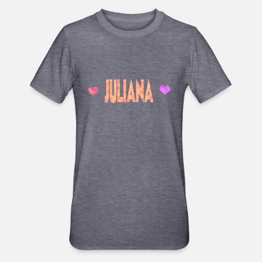 Juliana juliana - Polycotton-T-shirt unisex