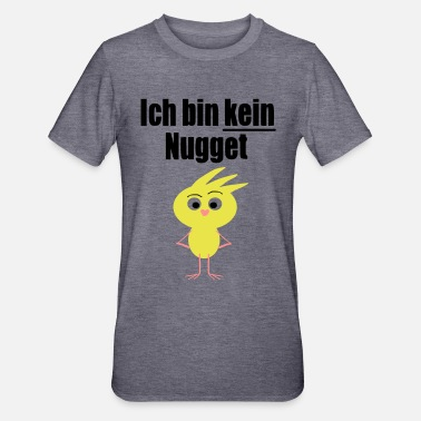 Chick I'm not a nugget vegan baby Stattment - Unisex Polycotton T-Shirt