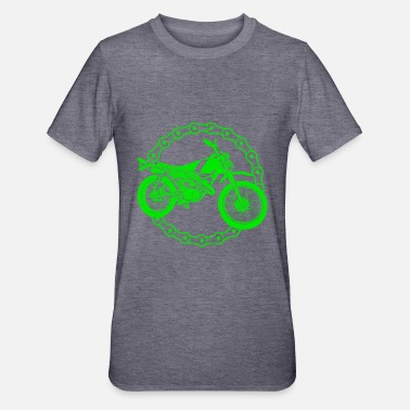 Wheels Motorcycle - motocross bike / Racing - Unisex Polycotton T-Shirt