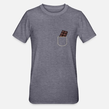 Pocket Chocolate In The Pocket Sweets Gift Idea - Unisex Polycotton T-Shirt