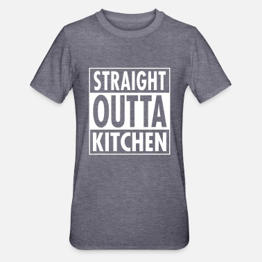 Straight Straight Outta Kitchen - Polycotton-T-shirt unisex