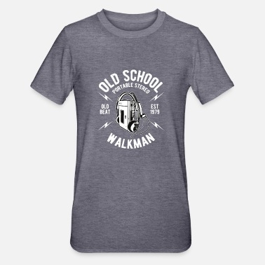 Oldschool Walkmann - Unisex Polycotton T-Shirt