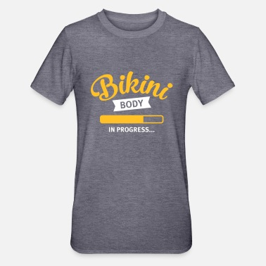 Bikini Bikini Body In Progress... - Unisex Polycotton T-Shirt