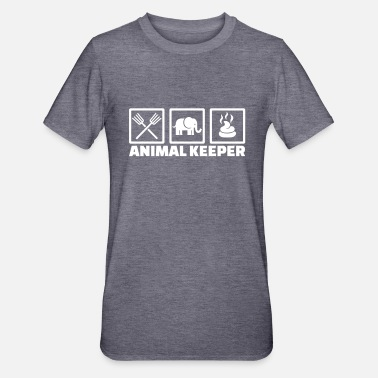 Keeper Animal keeper - T-shirt polycoton Unisexe