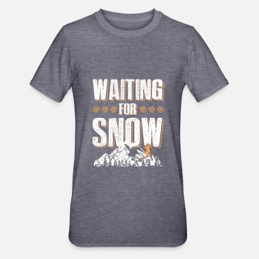 Afterski schnee ski skiing - Unisex Polycotton T-Shirt