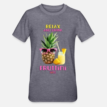Fruttino WAVES - Relax and drink fruttini - Maglietta da unisex, mix cotone e poliestere