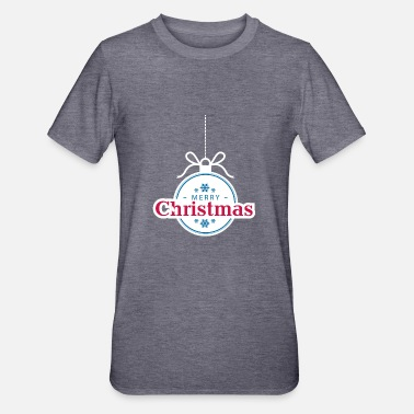 Marry Christmas-bestand - Unisex Polycotton T-shirt