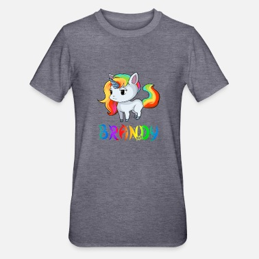 Brandy Unicorn Brandy - Unisex Polycotton T-shirt