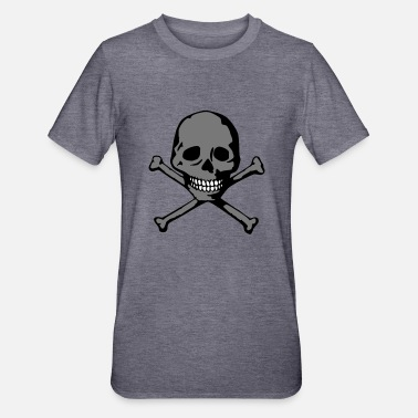 Jolly Roger Crâne (dents blanches) - T-shirt polycoton Unisexe