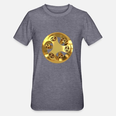 Young Buddha YYY_gold-005 - Unisex Polycotton T-Shirt