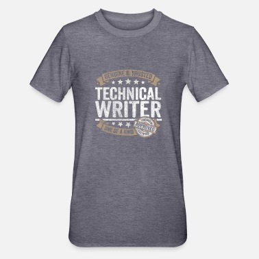 Writer Technical Writer Premium Quality Approved - Unisex Polycotton T-Shirt
