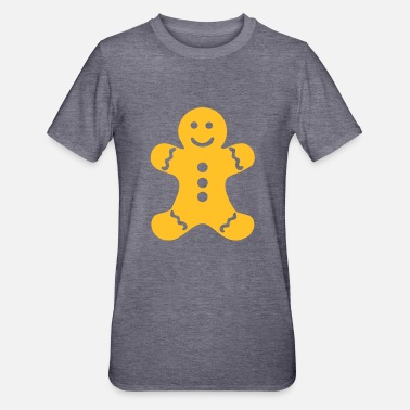 Gingerbread Gingerbread_Man - Unisex Polycotton T-Shirt