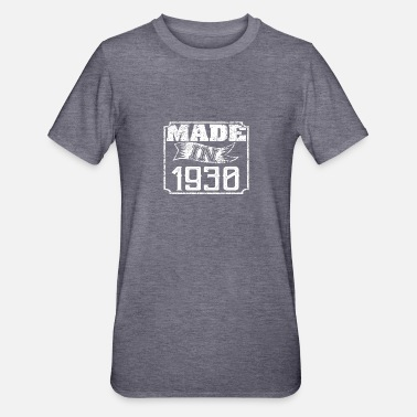1930 Gemaakt in 1930 - Unisex Polycotton T-shirt