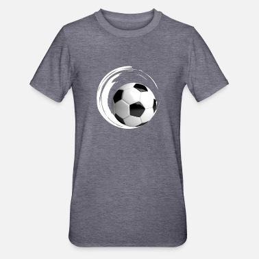 Zopscorer voetbal rond gate bal grote voetbalclub training - Unisex Polycotton T-shirt