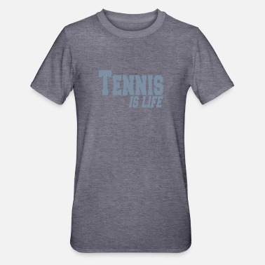 Tennis Is Life tennis is ife - Unisex Polycotton T-skjorte