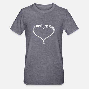 I love my horse - Unisex Polycotton T-Shirt