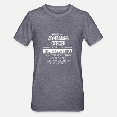 Admission Admissions Officer - Unisex Polycotton T-Shirt