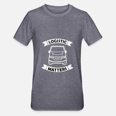 Transport Logistiek, magazijn en transport - Unisex Polycotton T-shirt
