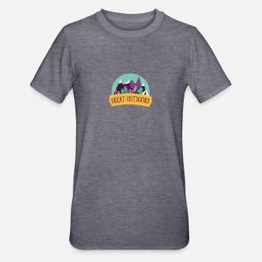 the great outdoors - Unisex Polycotton T-Shirt