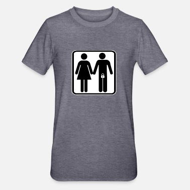Dominant Locked man with wife - Unisex Polycotton T-Shirt