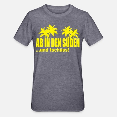 Syde fra syd - Unisex polycotton T-shirt