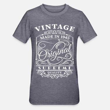 1945 Vintage Made in 1945 Original - Unisex Polycotton T-Shirt