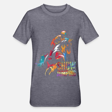 Jumping Show jumping Show jumper equestrian - Unisex Polycotton T-Shirt