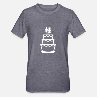 Wedding Cake Wedding cake - Unisex Polycotton T-Shirt