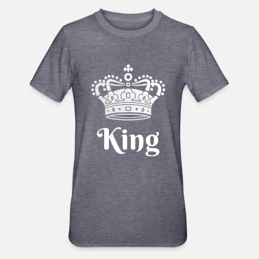 King Queen Aspetto del partner King Queen - Maglietta da unisex, mix cotone e poliestere