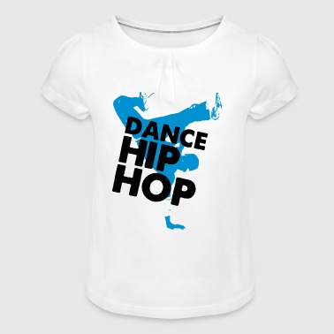 danse HIPHOP - T-shirt à fronces au col Fille