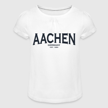 Aachen Aachen - Girl's T-Shirt with Ruffles