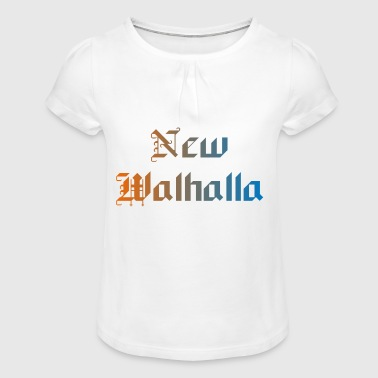 New Walhalla - Girl's T-Shirt with Ruffles