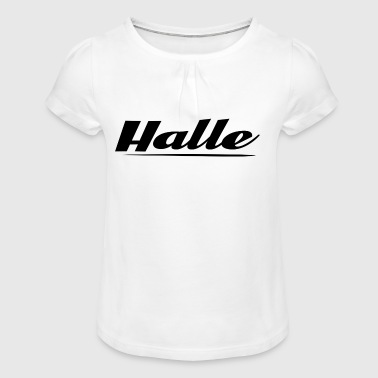 Hall - Girl's T-Shirt with Ruffles