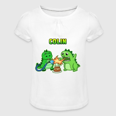 Colin birthday gift - Girl's T-Shirt with Ruffles