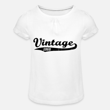 Vintage 1968 Vintage 1968 - Girl's T-Shirt with Ruffles